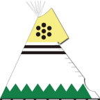 Handpainted Artwork : Nomadics Tipi Makers